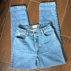 Talbots Vintage High Waisted Mom Jeans 26